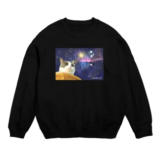 space CHIKUWA CAT Sweats
