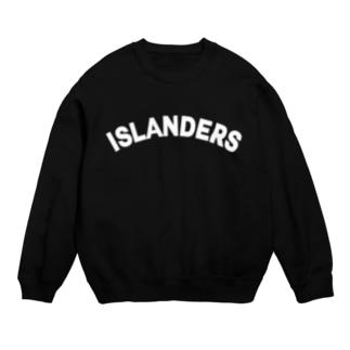 ISLANDERS白ロゴ Sweats