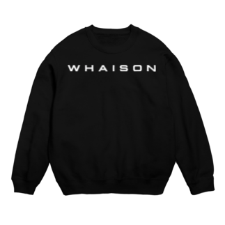 whaisonのwhaison(Plateia Bold_ttf) Sweats