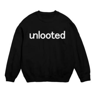 unlooted white Sweats