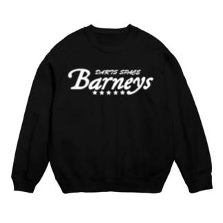 Barneys新ロゴ白 Sweat