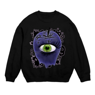 nue-designの悪魔の毒リンゴスウェット