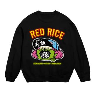 RED RICE (黒) Sweats