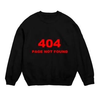 404 PAGE NOT FOUND:行方不明 Sweats