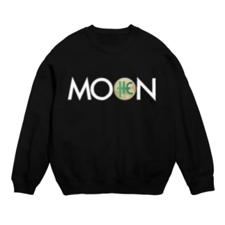 MOON THC whitefont Sweats