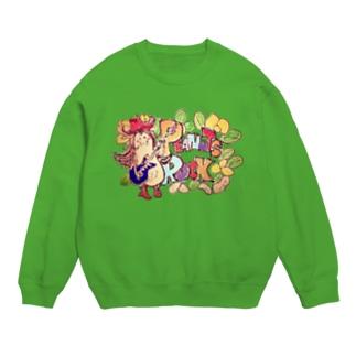 Peanuts Rockちゃん Sweats