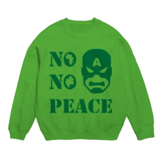 NO CAPTAIN☆AFRICA NO PEACE スウェット
