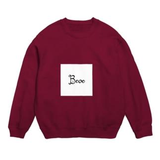 Booo(ボー。)のブランドロゴ Sweats