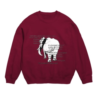 data Tシャツ(African elephant) Sweats