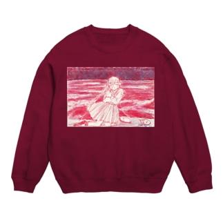 赤い海 スウェット