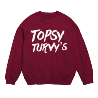 Topsy Turvy'sロゴ Sweats