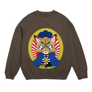猫の駅長さん(ソマリ猫プリンちゃん)  Sweats