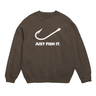 JUST FISH IT (白) Sweats