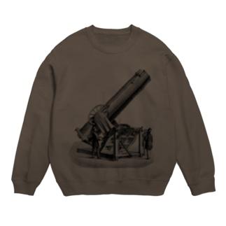 天体望遠鏡 <アンティーク・プリント> Sweats
