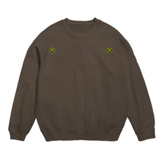 kamon 十大紋-鷹の羽紋 (丸に違い鷹の羽)(スウェット&パーカー) Sweats