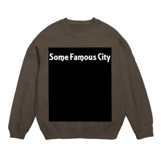 Some Famous City in Colors Sweats