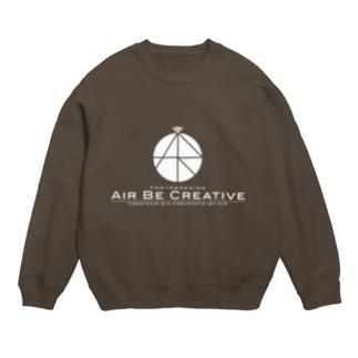 AirBeCreative白ロゴ Sweats
