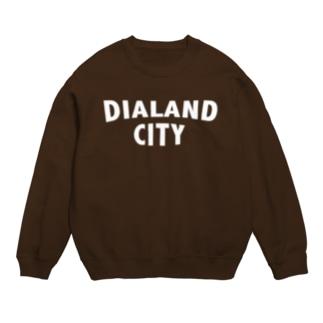 DIALAND CITY WHITE スウェット