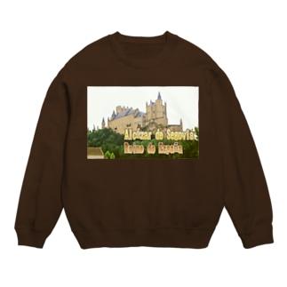 スペイン:セゴビアのアルカサル Spain: Alcázar de Segovia Sweats