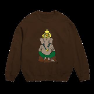 Happy Elephantのガネーシャ スウェット