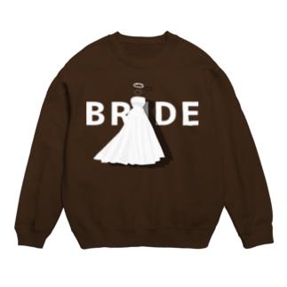 ペア(BRIDE)ドレス_白_FW Sweats