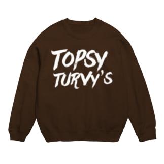 Topsy Turvy'sロゴ Sweat