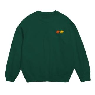 四角いグミ【深緑色用カラー】 Sweat