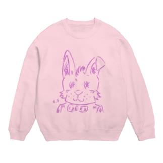 スマホdeイラストレーター・古川 セイのタキシードを着たウサギ Sweats