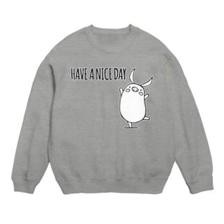 PIGGIE-PIGGY / HAVE A NICE DAY (white) Sweats