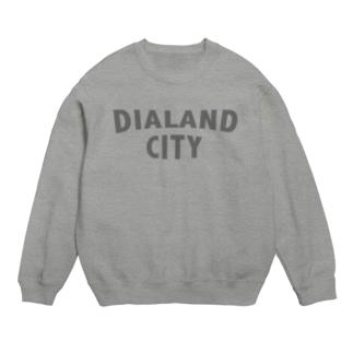 DIALAND CITY GRAY スウェット