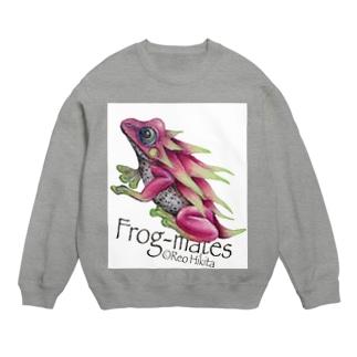 カエルメイト(Frog-mates)より「ピタヤドクガエル」 Sweats