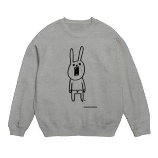 ウサギのウーのシンプルさん Sweats