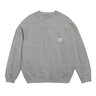 しけ丸 ワンポイントロゴ(White) Sweats