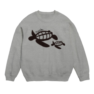 Turtle-Black スウェット