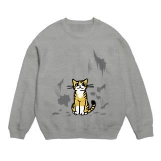 いたずらトラ猫 Sweats