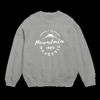 BASE-CAMPのBASE MOUNTAIN 01 WHITE Sweats