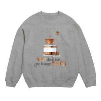 コーヒー飲みませんか Sweats