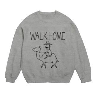 WALK HOME スウェット