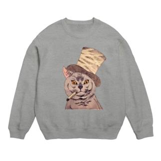 Dandy cat -紳士猫 Sweats