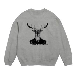 「鹿」 スウェット Sweats