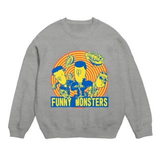 FUNNY MONSTERS スウェット