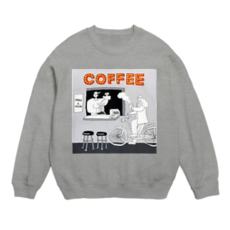 "shinri murakami "" COFFEE STAND "" Sweats"