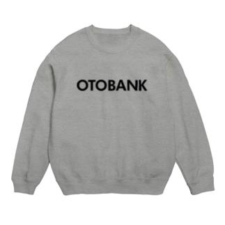 OTOBANKのグッズ@black スウェット