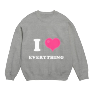 I LOVE EVERYTHING Sweats