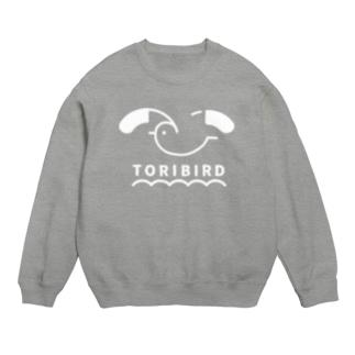 TORIBIRD ホワイト Sweats
