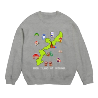 沖縄本島マップ Sweats
