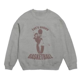 Let's enjoy BASKETBALL Sweats