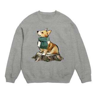 マフラー犬 コーギー Sweats