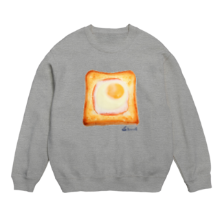 3pondSのエッグトースト スウェット