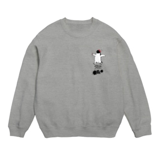 小-〆切戒めのペンギン(薄い生地色用) Sweats